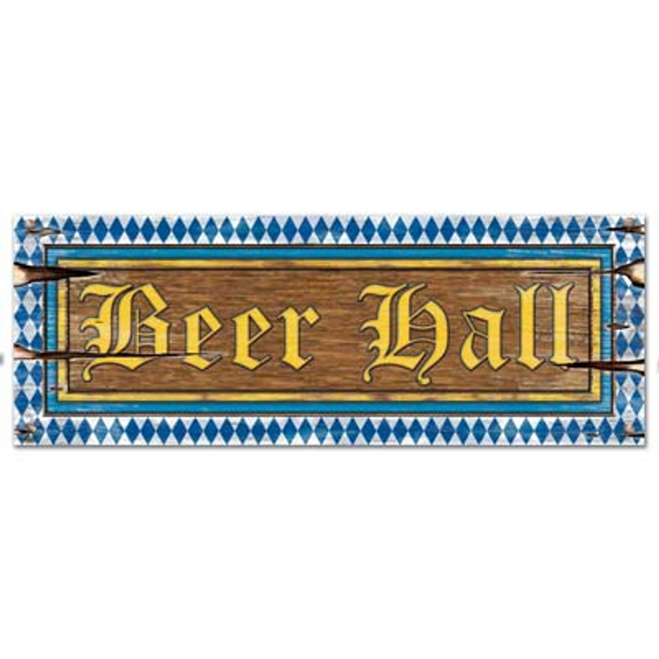 Oktoberfest Party Beer Hall Sign Party Decoration
