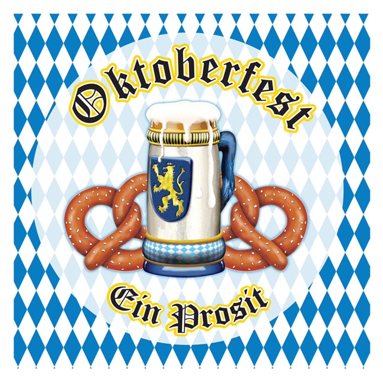 Oktoberfest Party Napkins 16pk