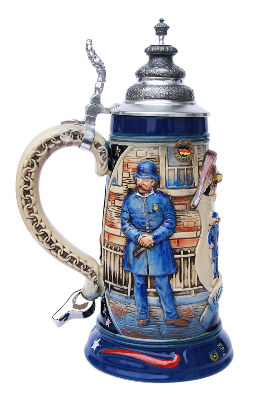 Policeman Beer Stein