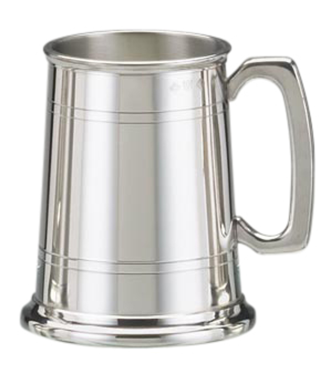 Polished Pewter Classic Tankard