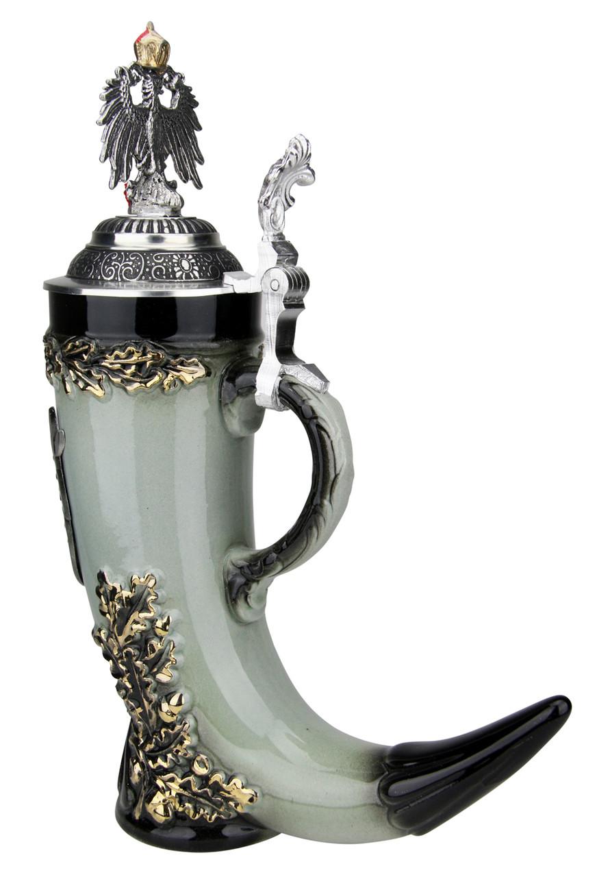 Royal Deutschland Drinking Horn Beer Stein