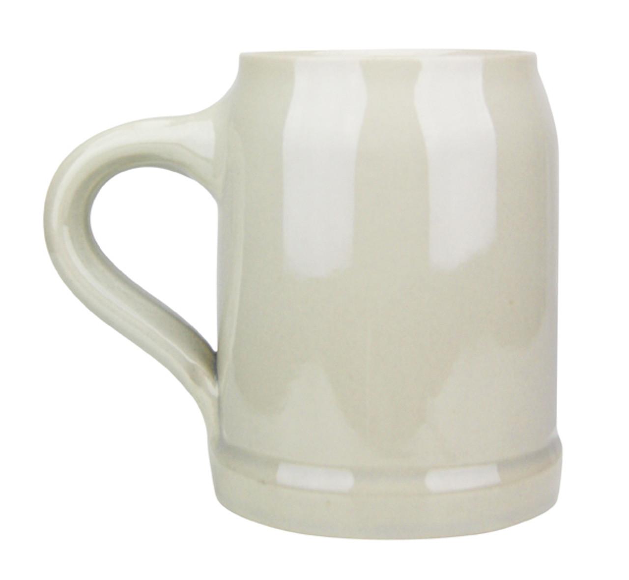 Personalize a .5 Liter Stoneware Beer Mug
