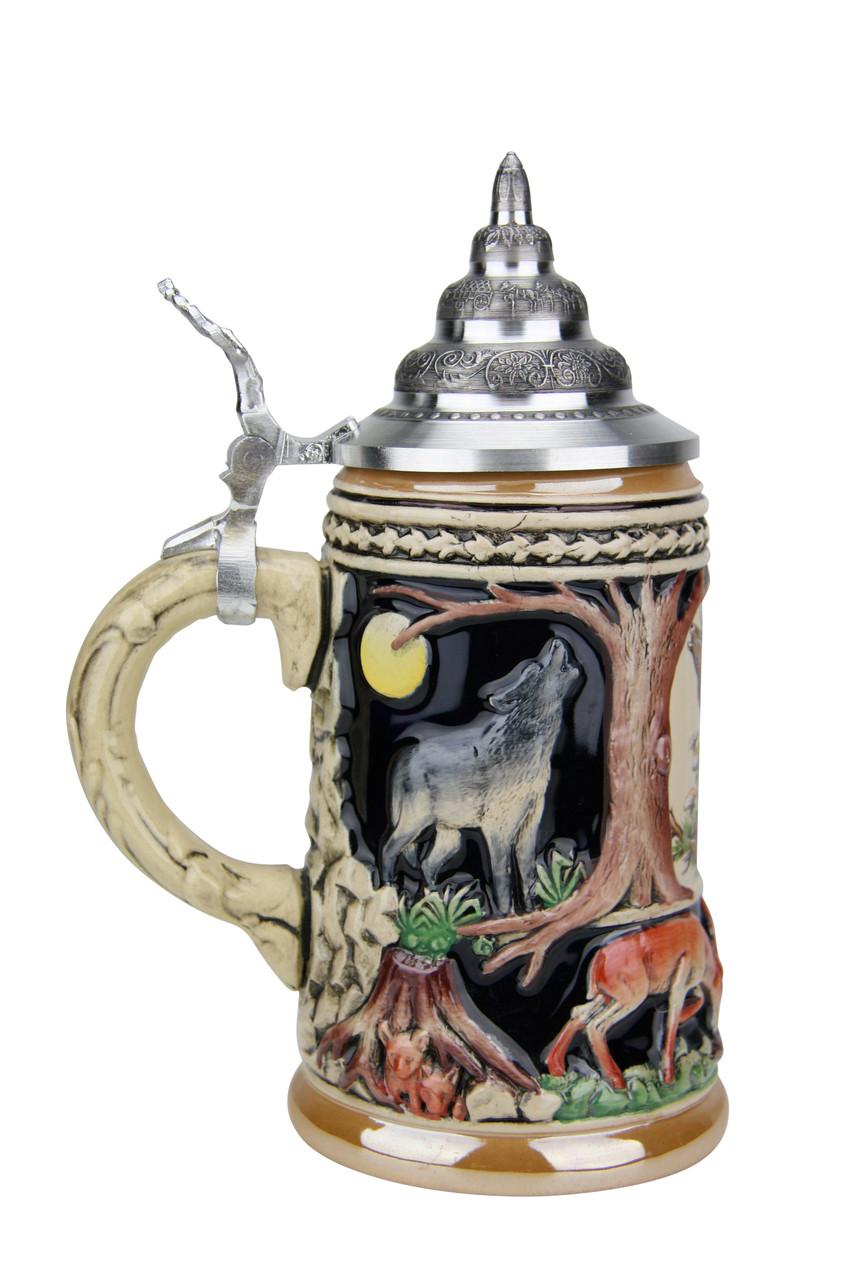 Wildlife Beer Stein