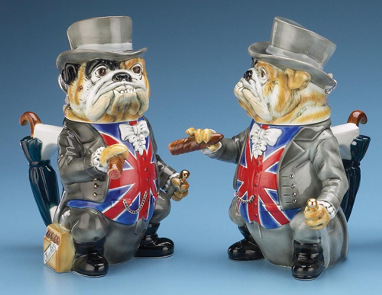 Winston Churchill Bulldog Beer Stein
