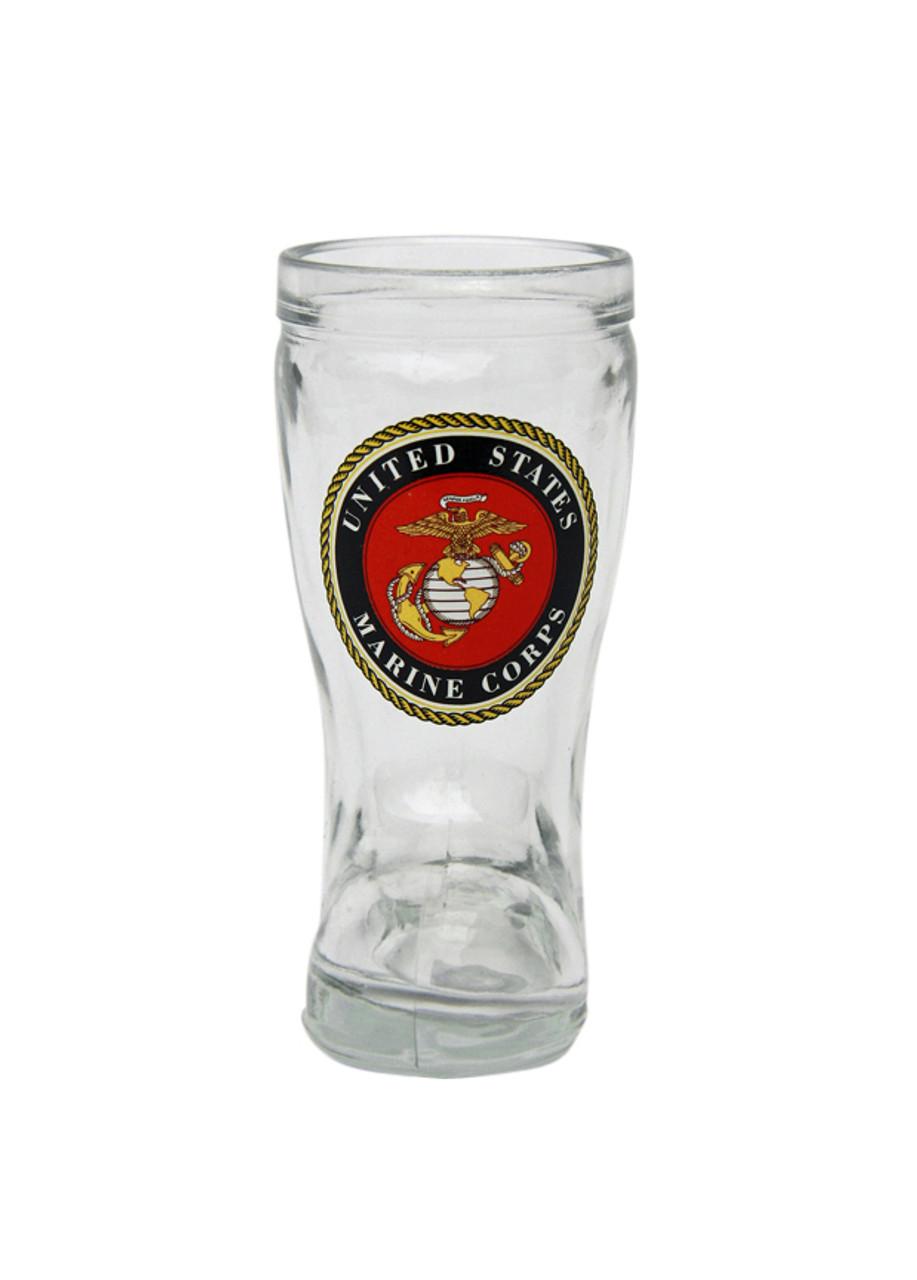 Marine Corp Beer Boot Shot Glass