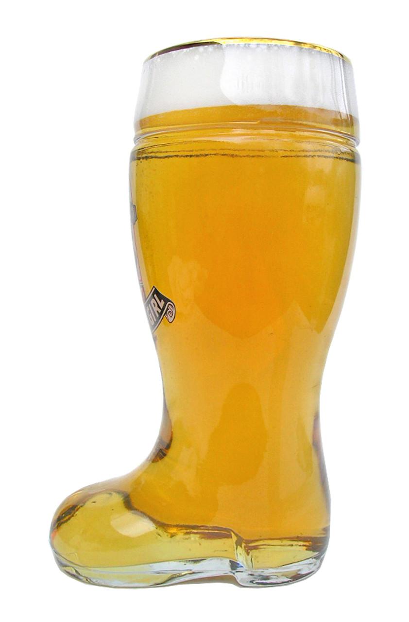 Custom Engraved St Pauli German Beer Boot