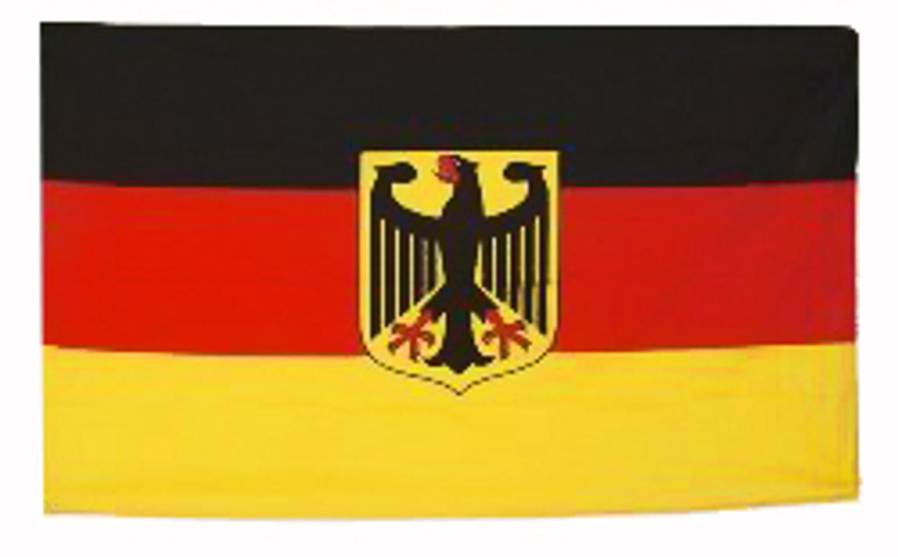 Germany Eagle Crest Flag 3' x 5'
