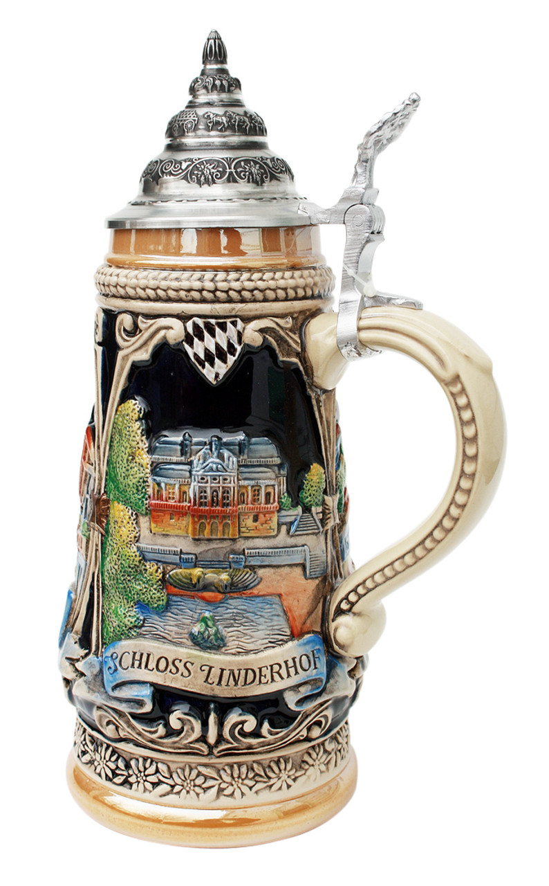 Garmisch, Linderhof, Oberammergau Beer Stein