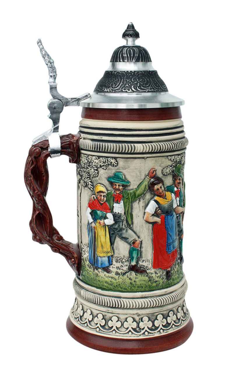 Summer Parade Traditional Beer Stein Rustic