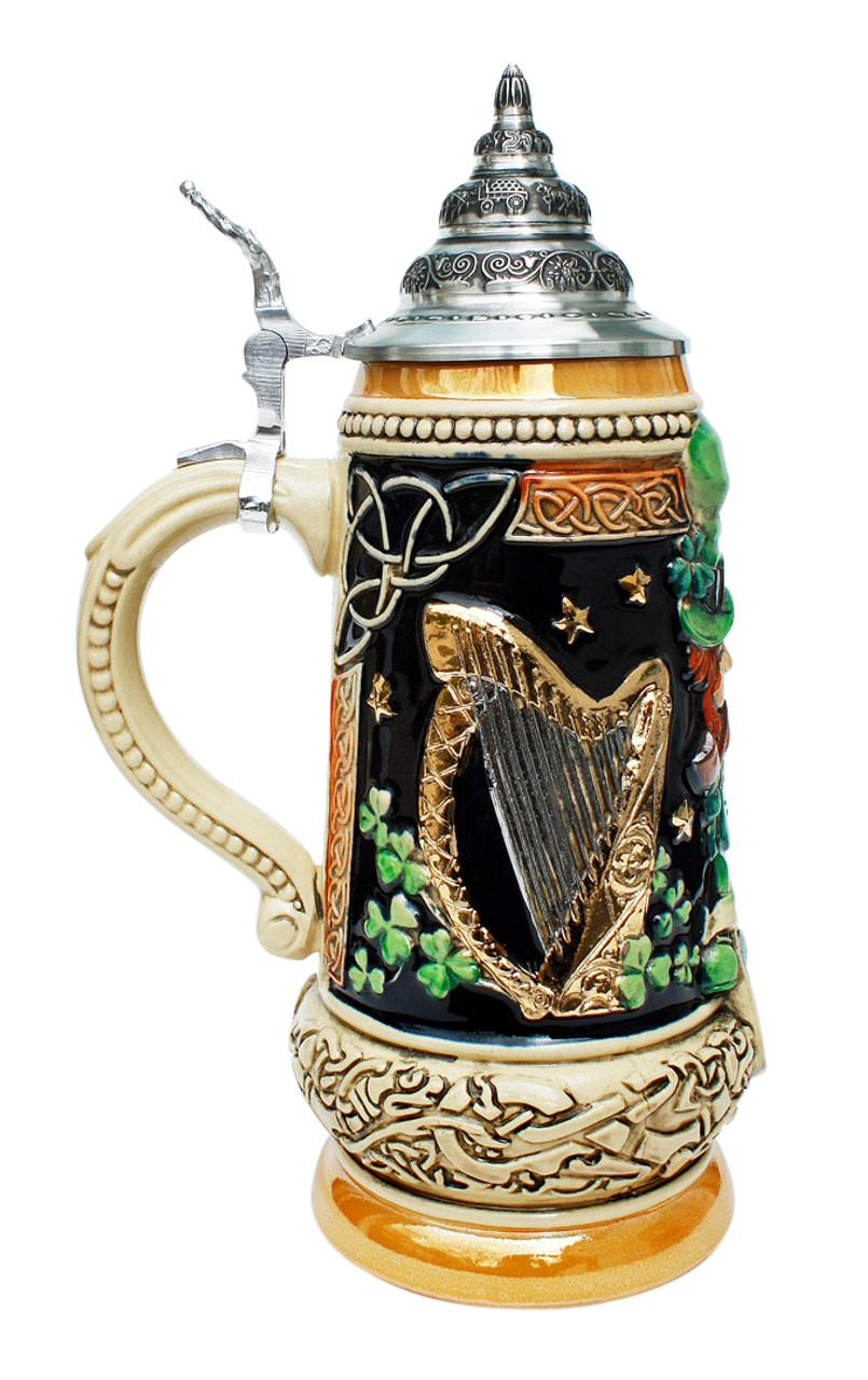 Ireland Beer Stein - GermanSteins.com  Irish Beer Mug