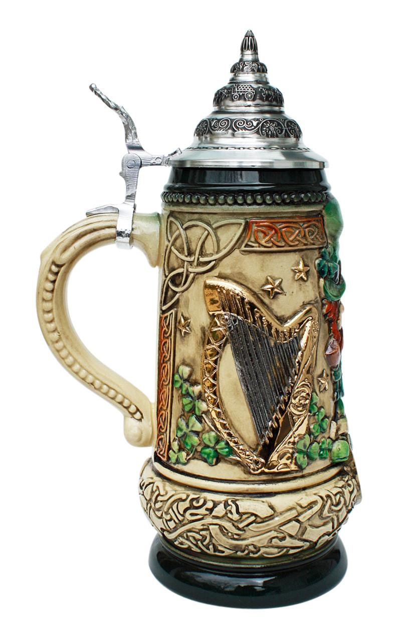 Ireland Beer Stein Rustic