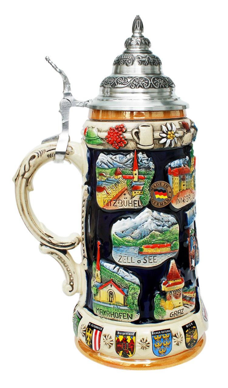 Austria Commemorative Beer Stein