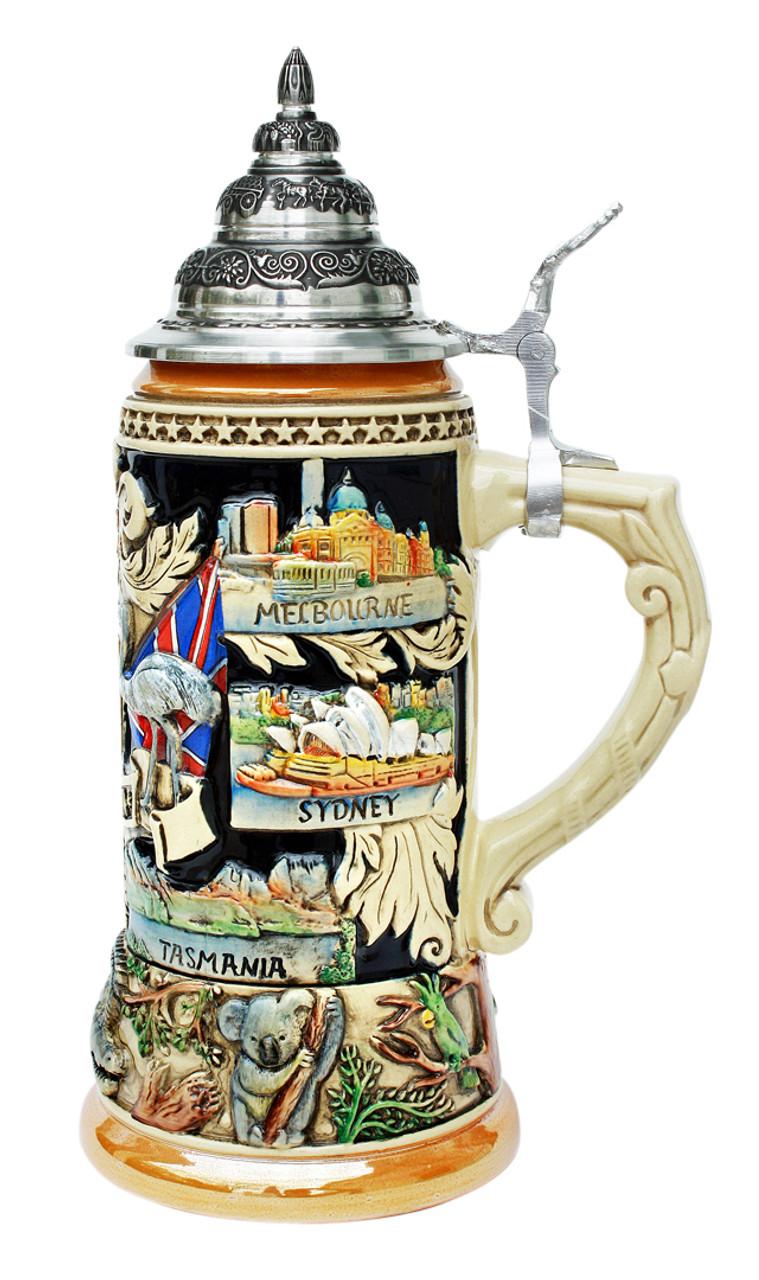 Australia Beer Stein