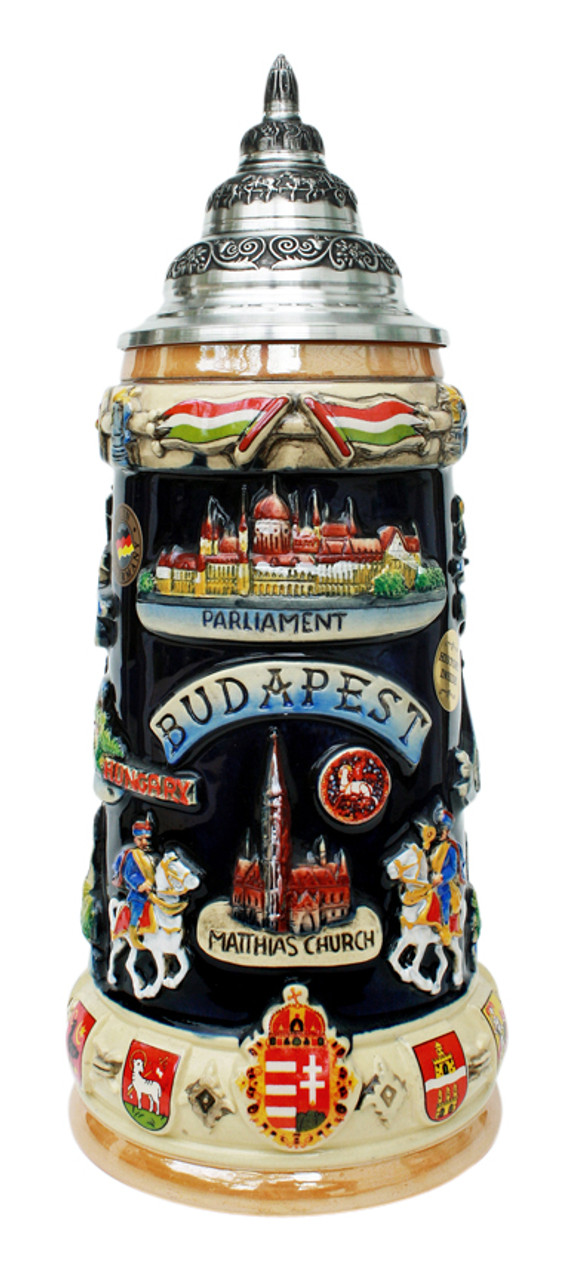 Budapest Commemorative Beer Stein