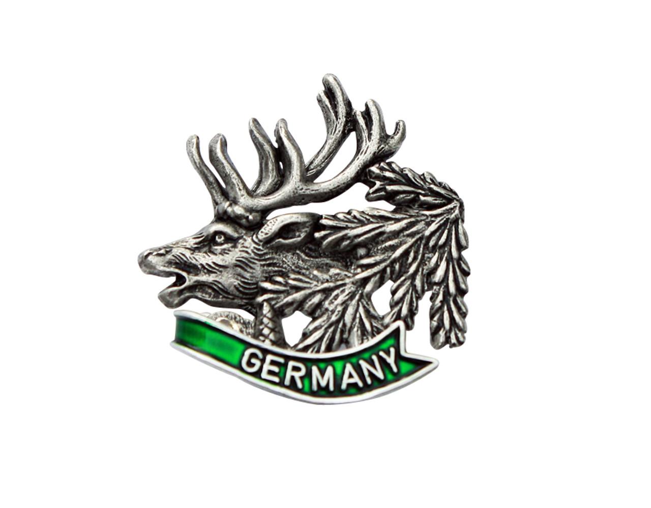 Elk Hat Pin