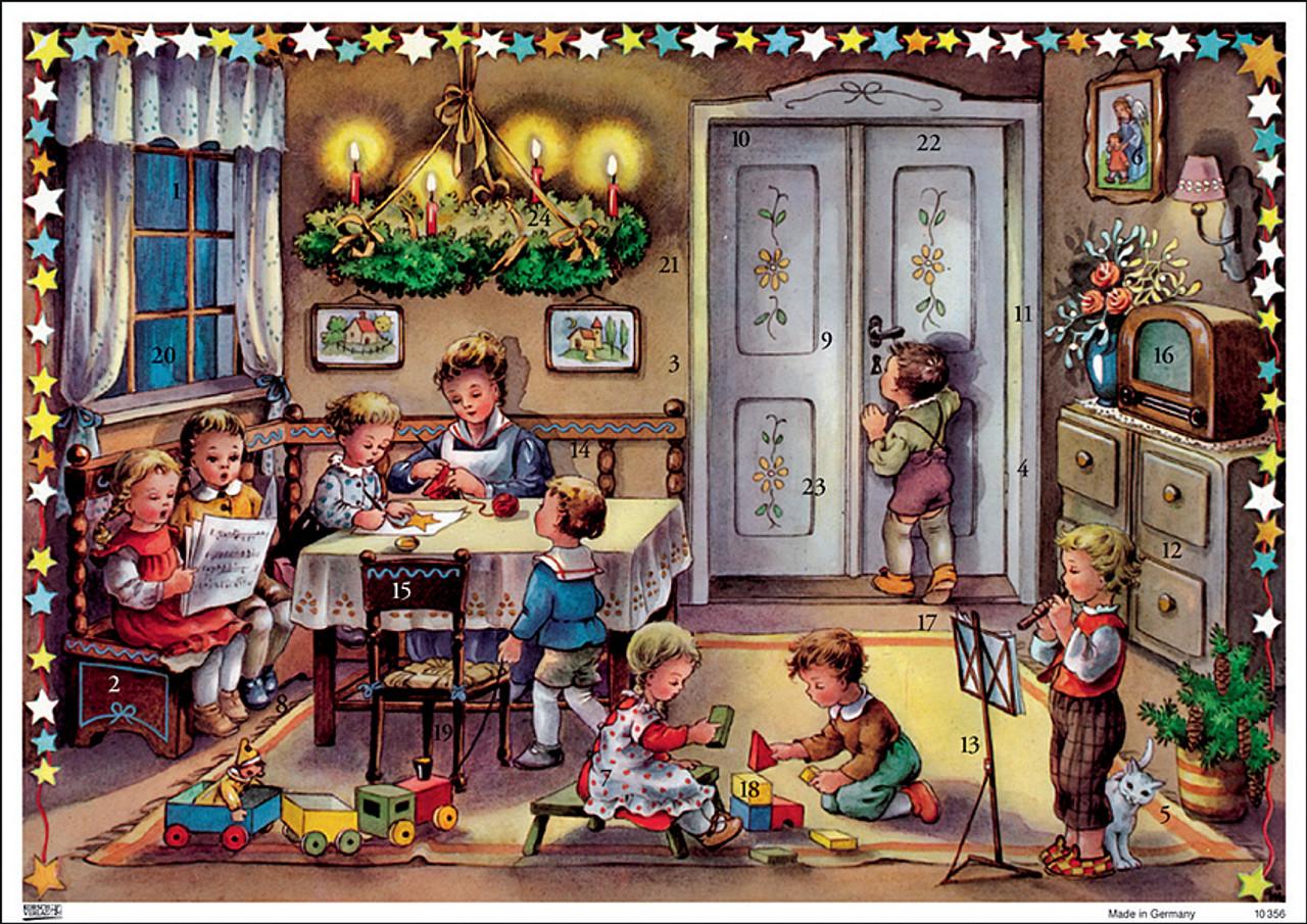 Christmas Eve German Advent Calendar