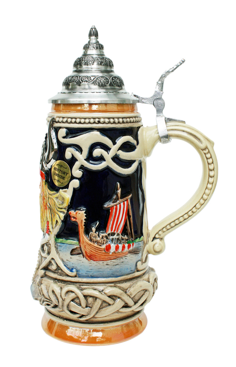 Denmark Viking Beer Stein