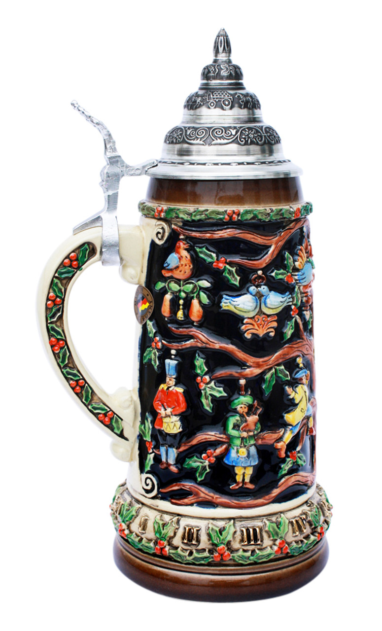 Authentic Christmas Stein Gift for Germans