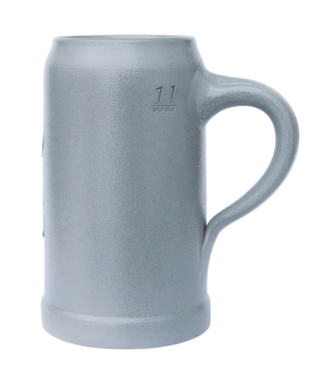 Hofbrauhaus HB 1 Liter Salt Glaze Stoneware Beer Mug