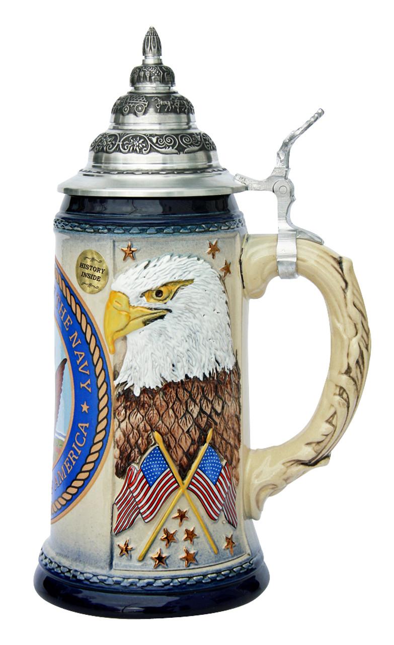 US Navy Beer Stein
