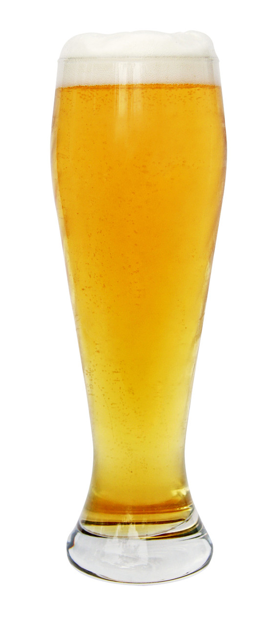 Traditional 0.5 Liter Wheat Beer Glass