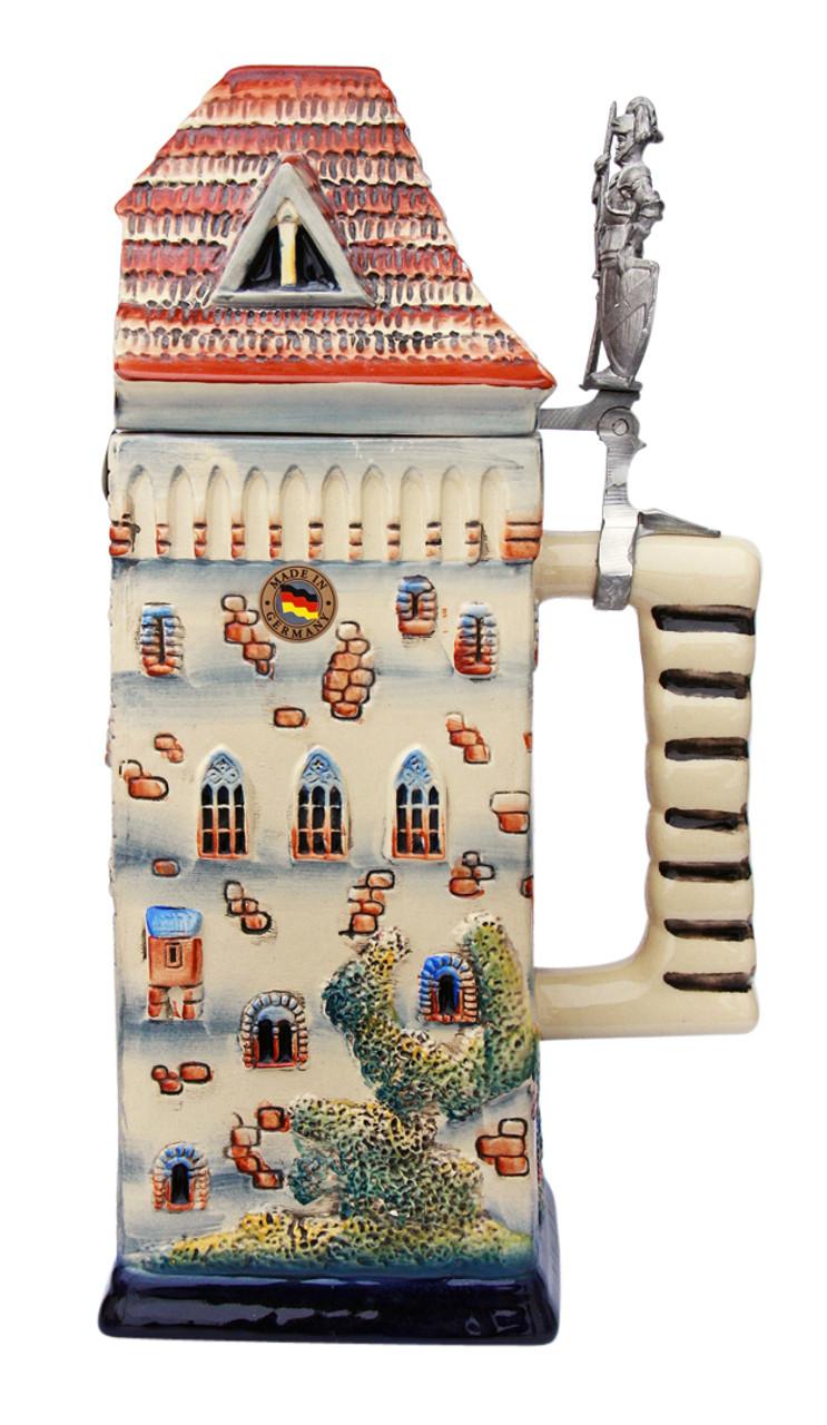 Knights Castle Tower 3D 1.5 Liter Beer Stein
