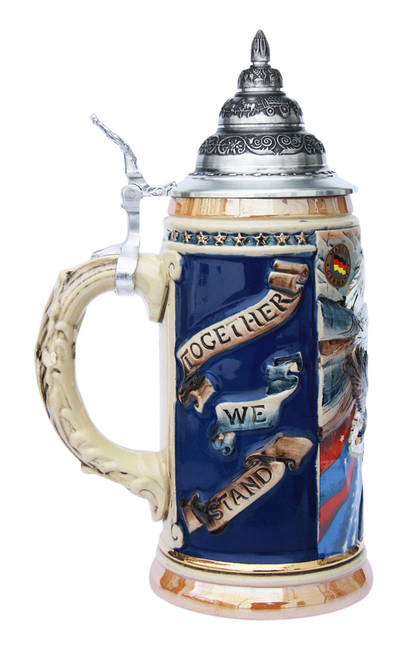 US Air Force Eagle of Freedom Beer Stein