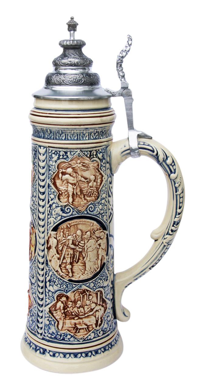 King Limitaet 2008 | Old Testament Handpainted Beer Stein