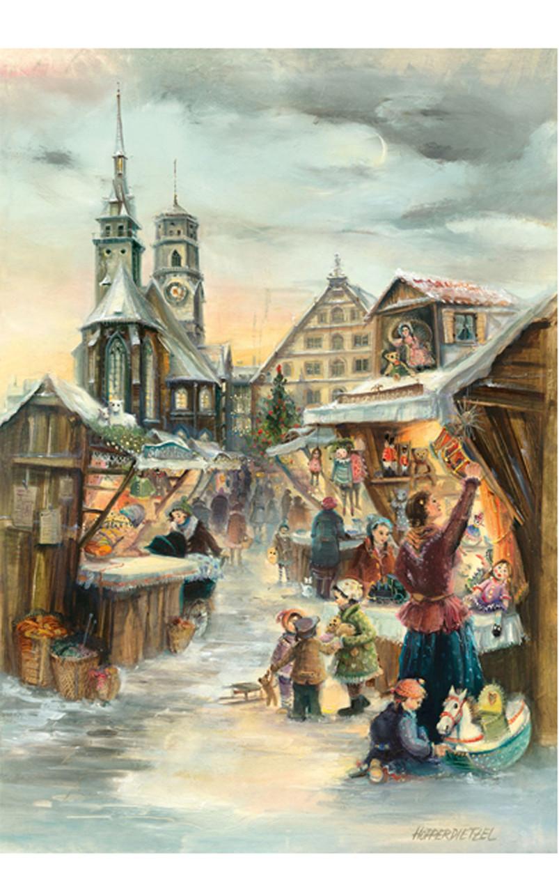Stuttgart Christmas Market German Advent Calendar