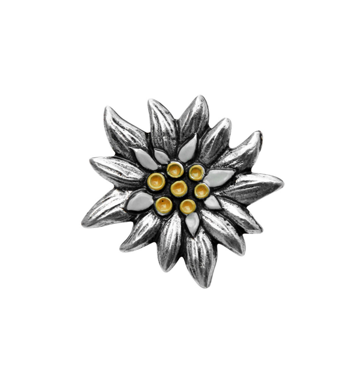 Edelweiss German Pewter Pin