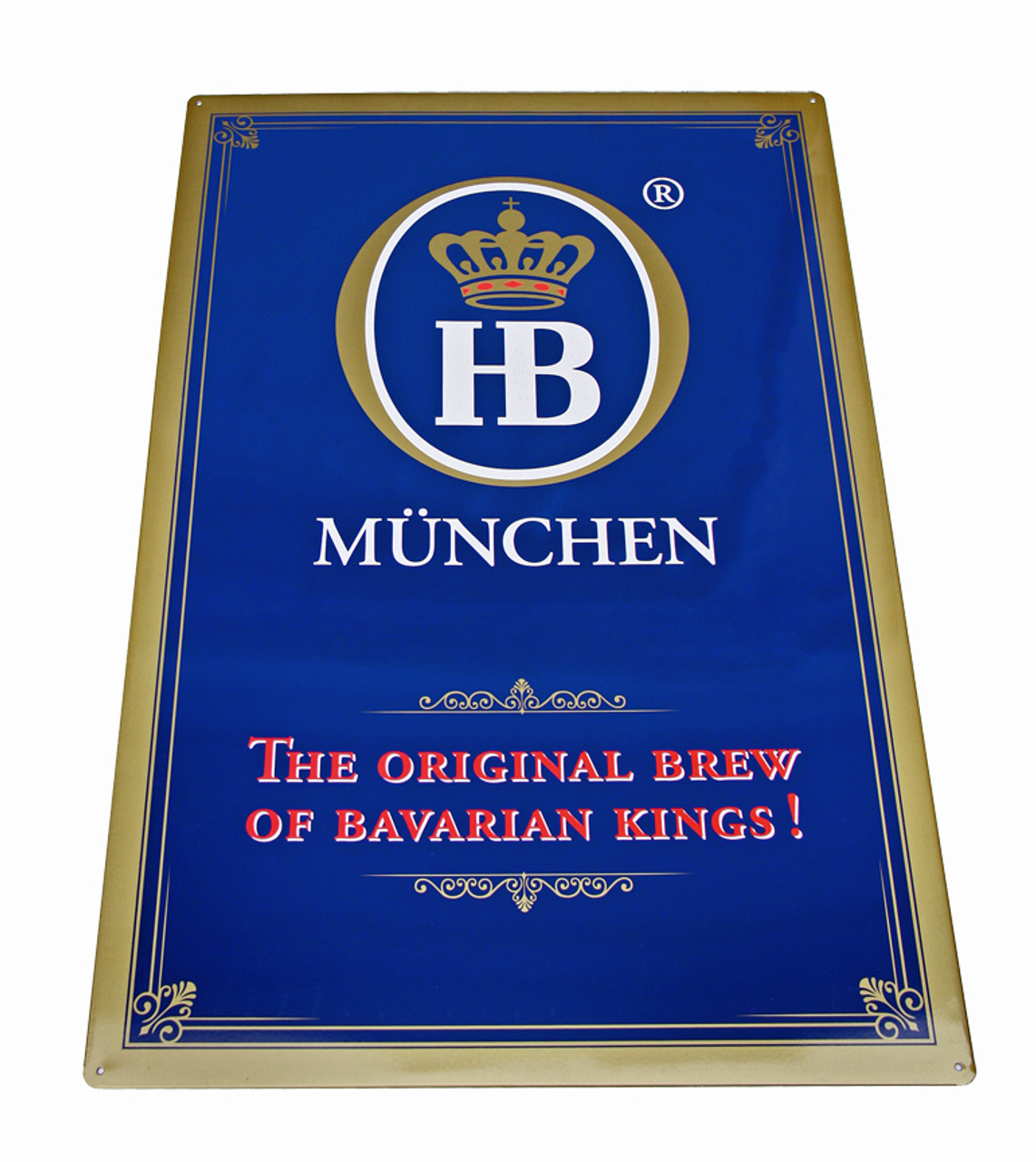 Hofbrauhaus HB Original Brew Metal Beer Sign