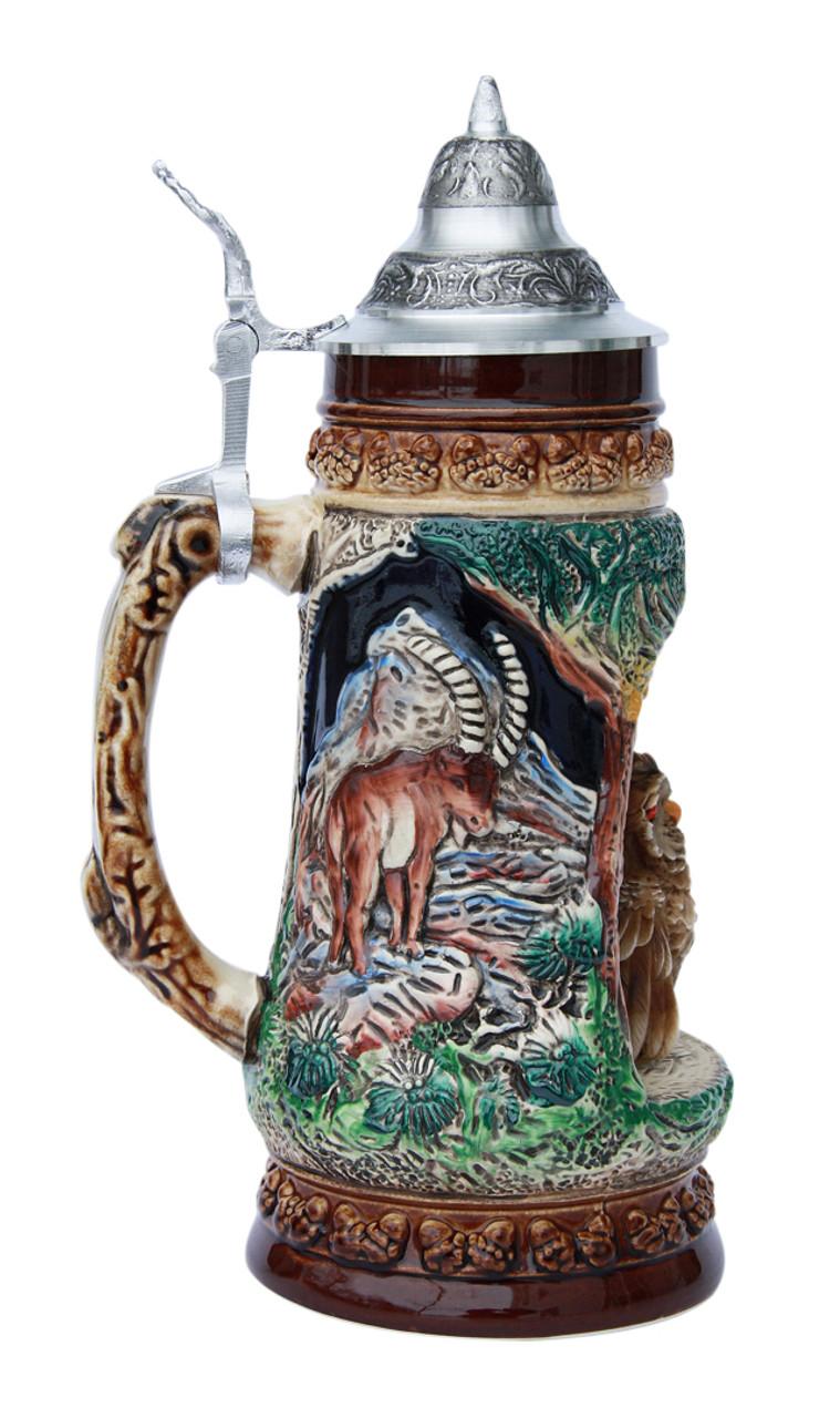 Owl Wildlife Grotto Beer Stein