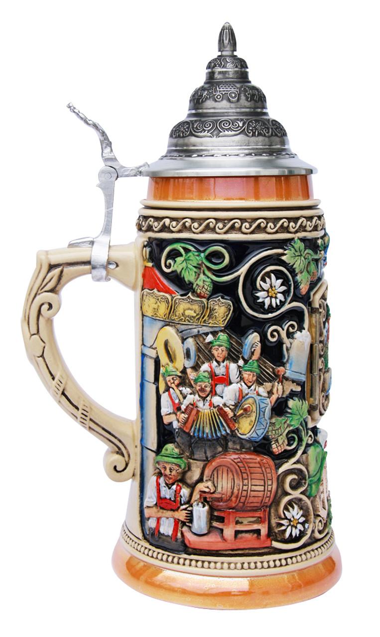 Window to Oktoberfest Munich Beer Stein