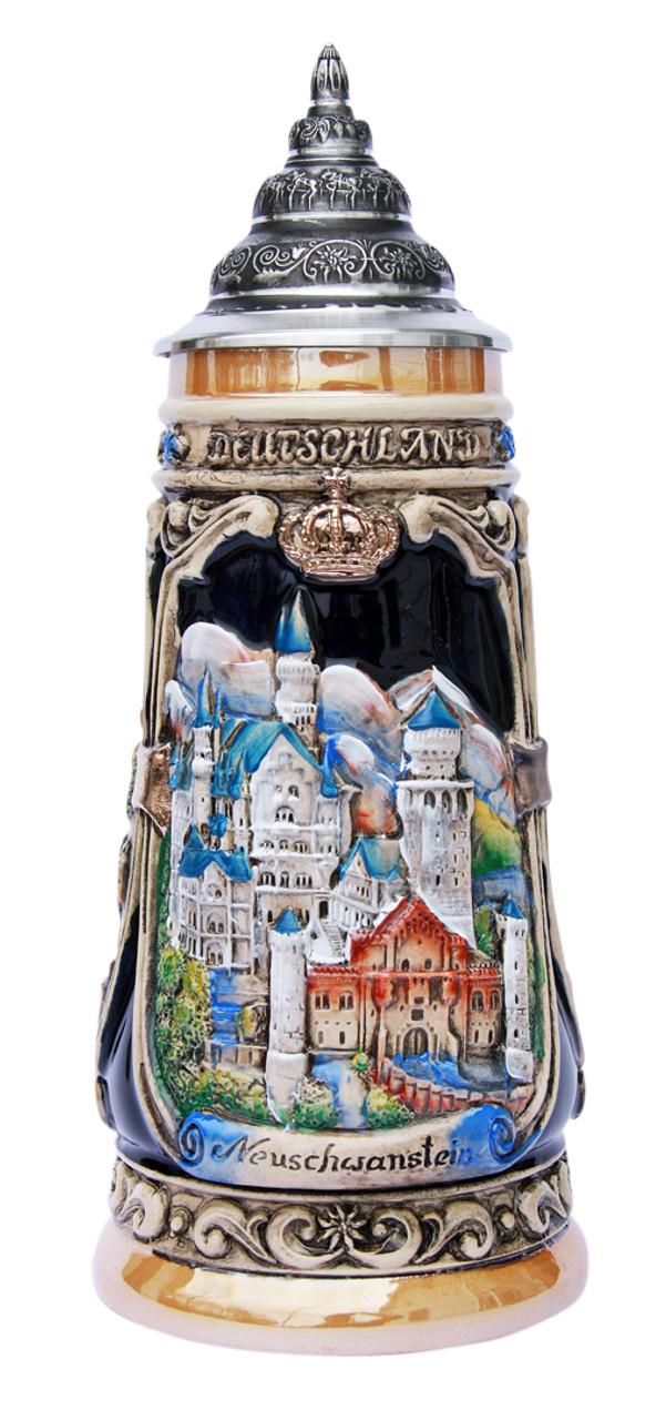 Neuschwanstein and Hohenschwangau Castle Beer Stein