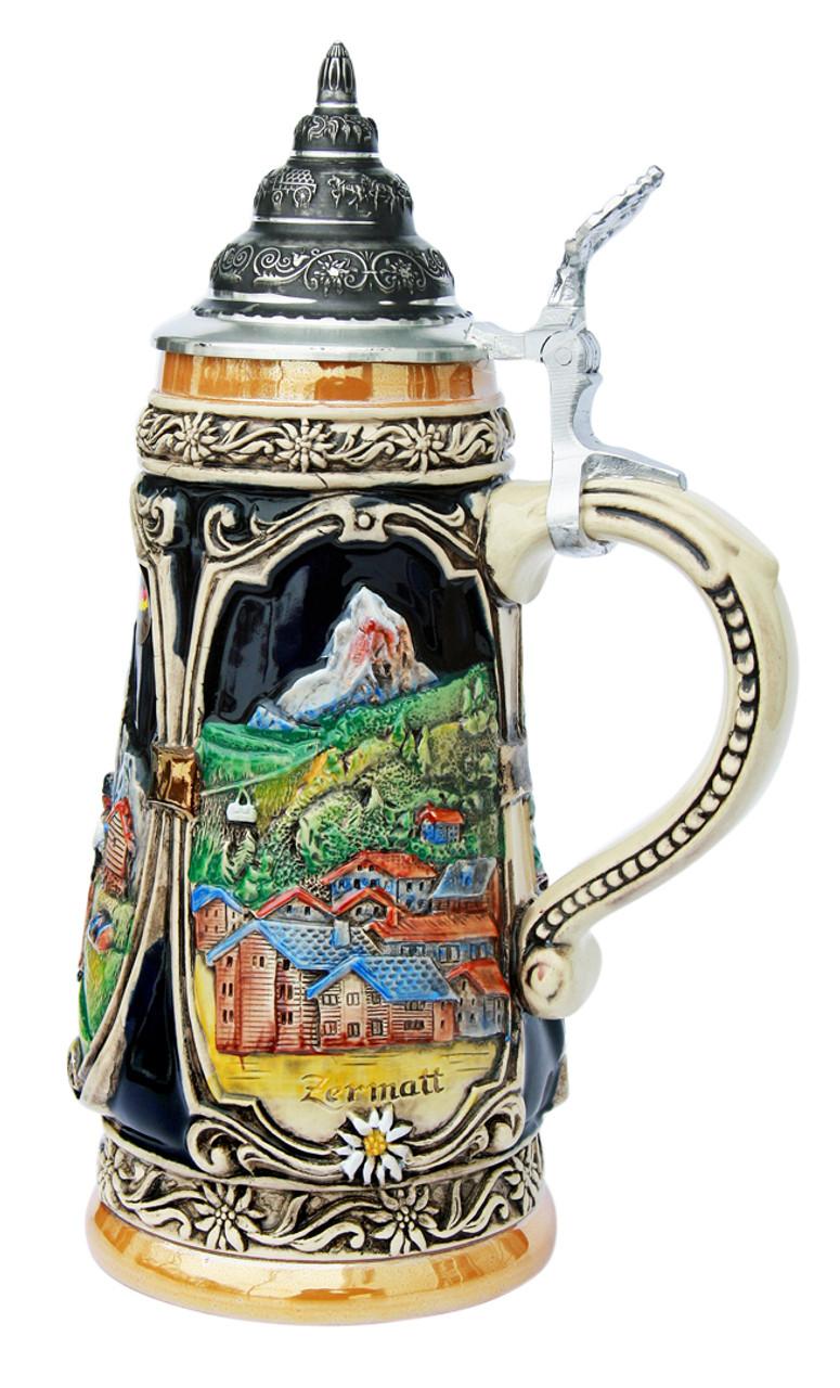 Matterhorn Switzerland Beer Stein