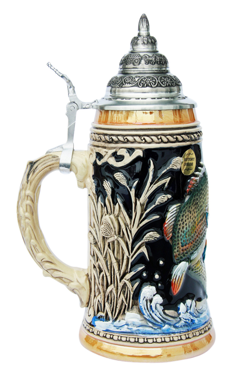 Large Mouth Bass Beer Stein