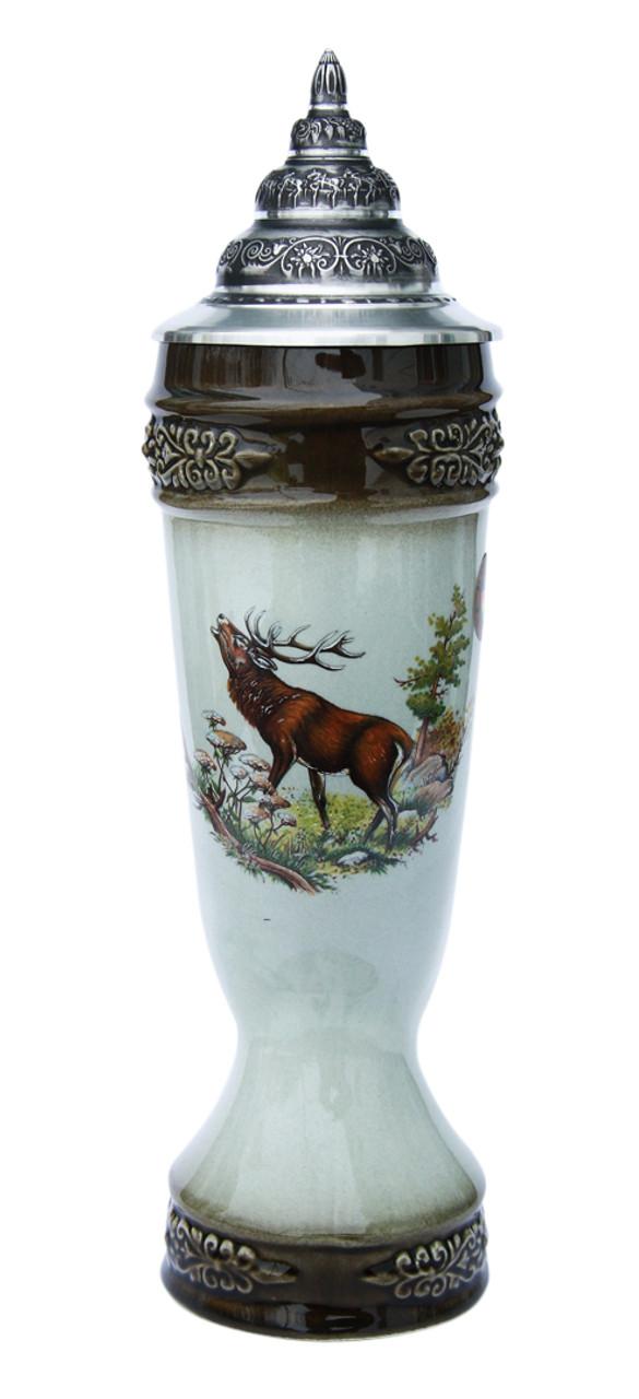 Elk Drinking Horn Beer Stein