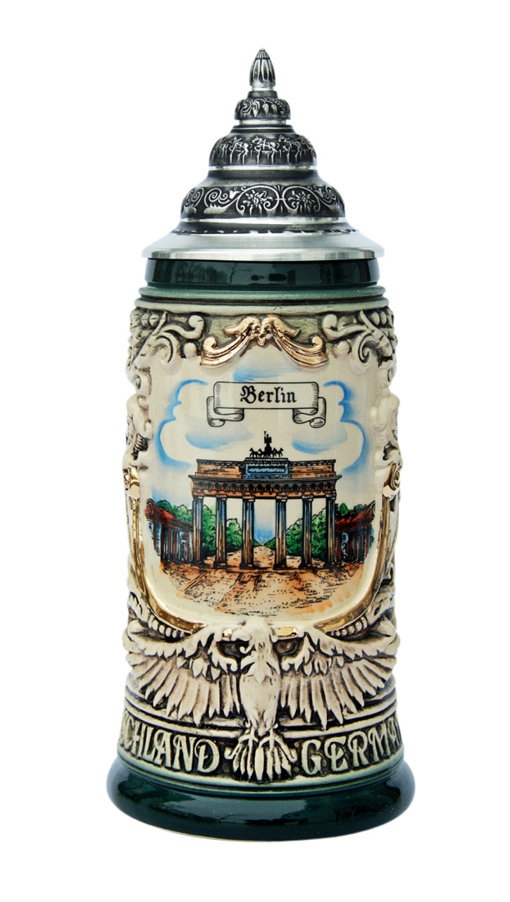 Berlin City Skyline Beer Stein 0.4 Liter