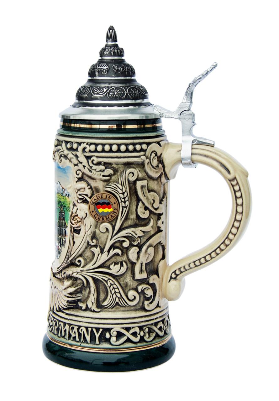 Munich City Skyline Beer Stein 0.4 Liter