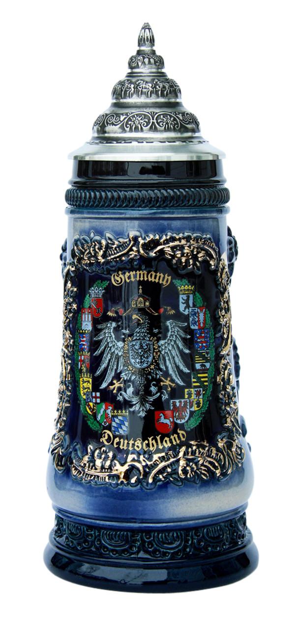 Deutschland Alpine Flowers Beer Stein