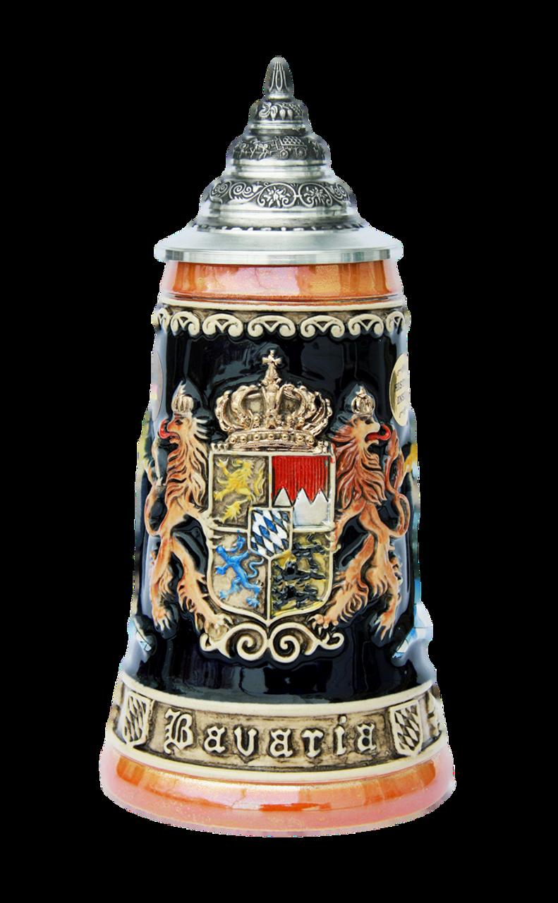 Bavaria Lion Crest Beer Stein