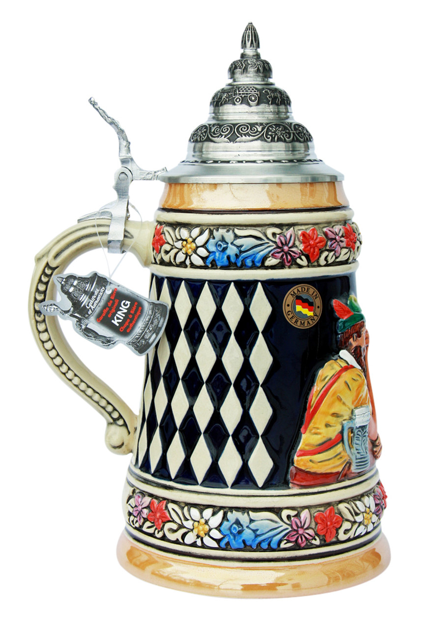 Traditional Hand Painted German Beer Stein