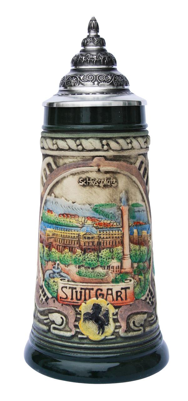 Stuttgart Beer Stein Rustic