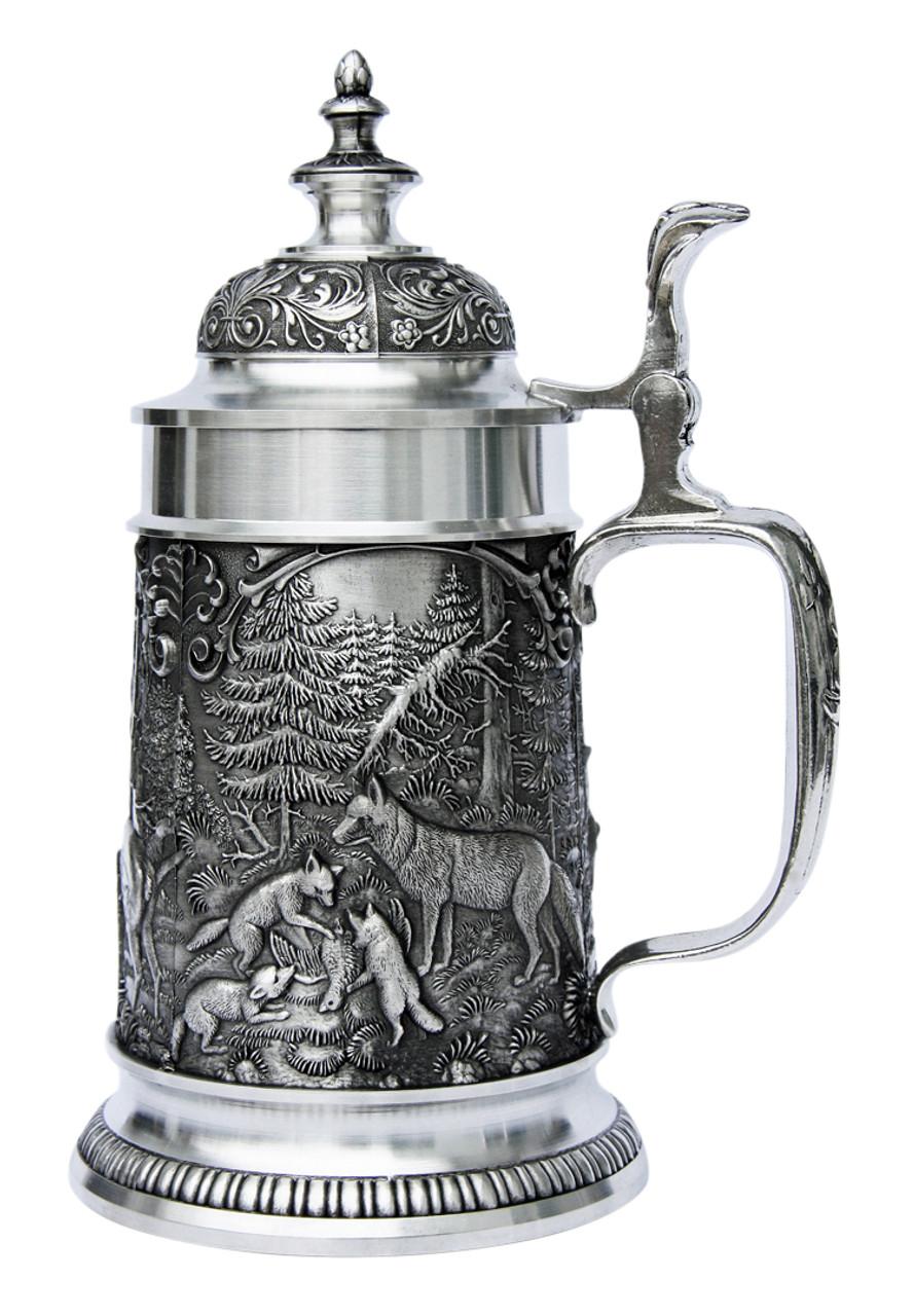 Hunters Pewter Beer Stein