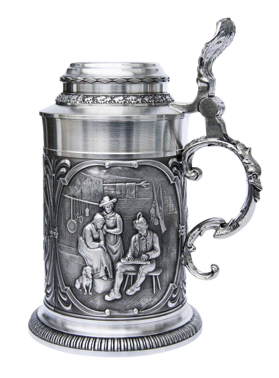 Austria Pewter Beer Stein