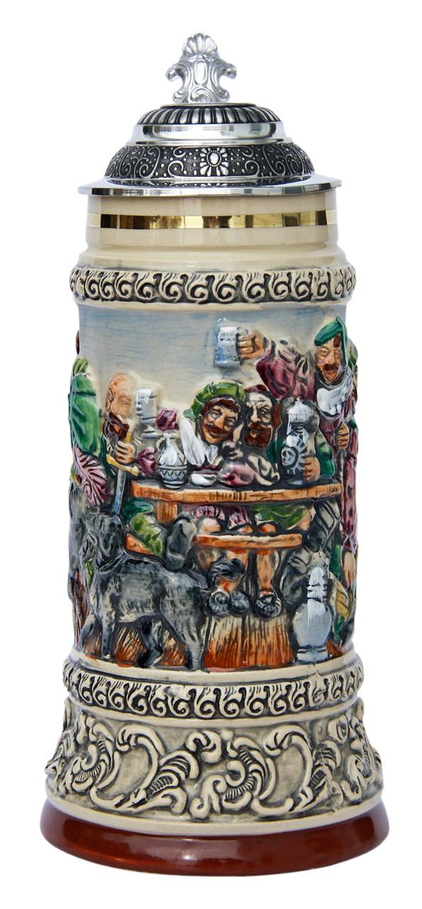 Drinking Knights Beer Stein