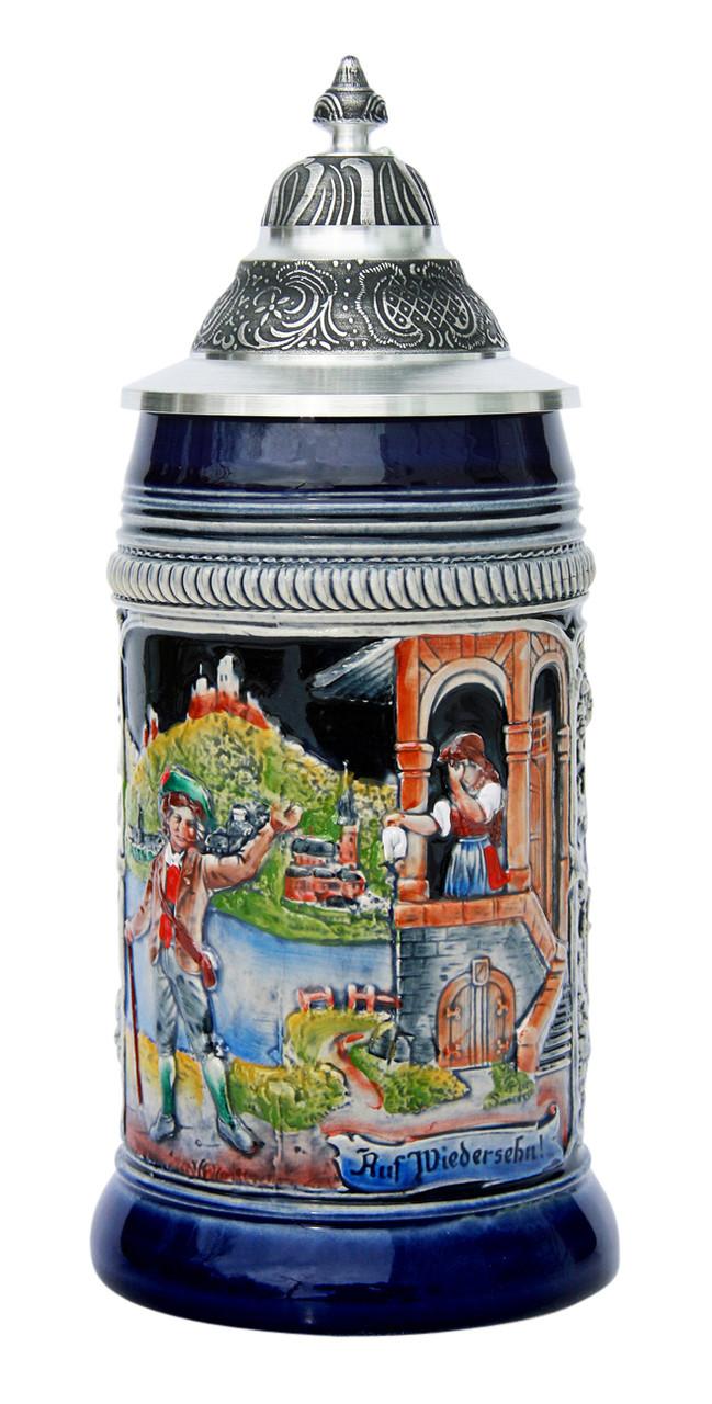 Auf Wiedersehn Traditional Beer Stein