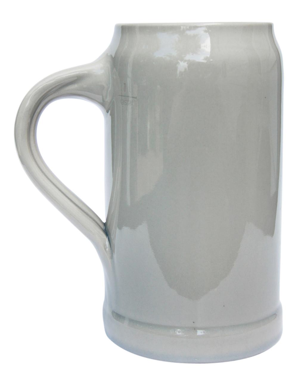 Traditional Stoneware Beer Mug for Original Pilsner Beer