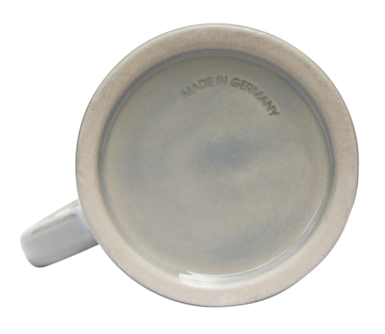 Bottom of 1 Liter Ceramic Beer Mug