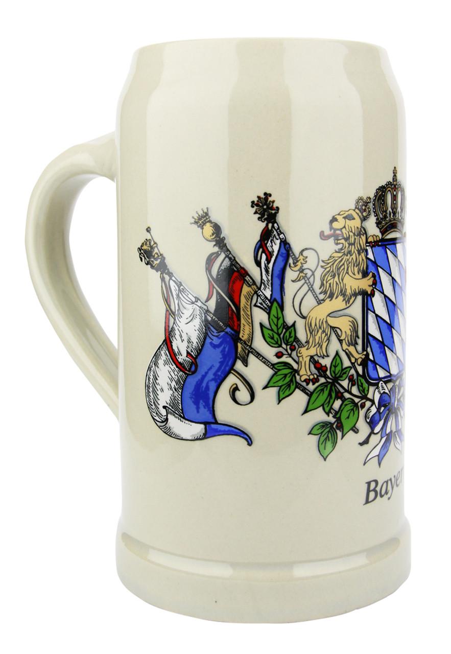Oktoberfest Ceramic Beer Mug 1 Liter